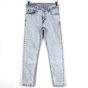Levi's 512 High Rise Slim Fit Stonewash Jeans 29